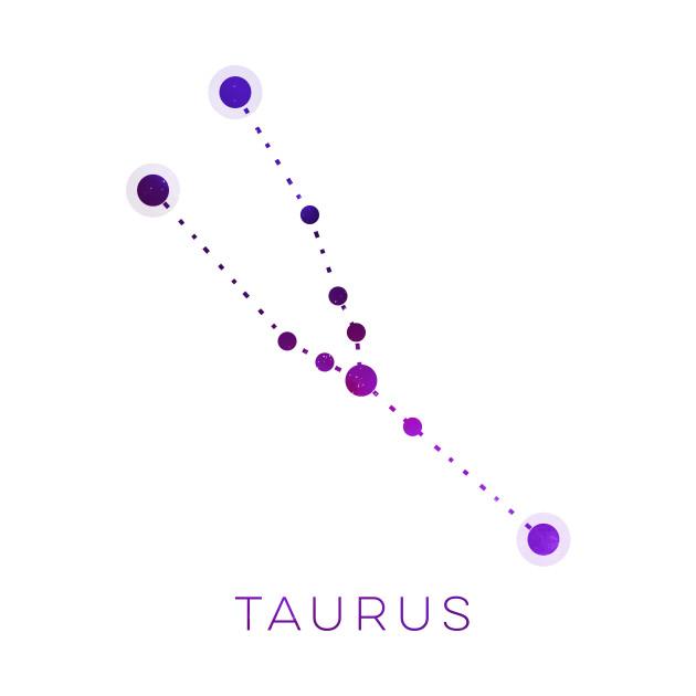 TAURUS STAR CONSTELLATION ZODIAC SIGN - Taurus - T-Shirt ...