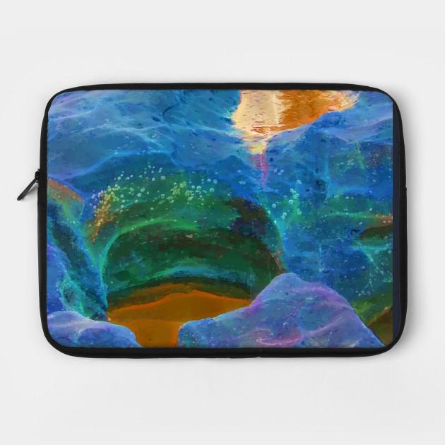 Vibrant abstract rocks
