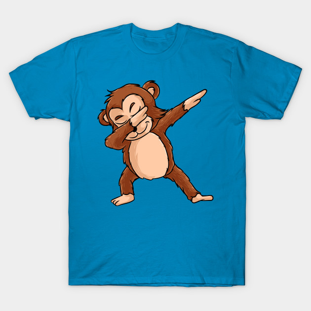 9a540015 Cute Dabbing Monkey Shirt Funny Monkey Dab Tshirt Gift - Cute ...