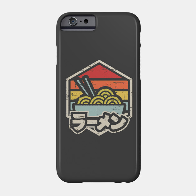 Retro Badge Ramen Phone Case