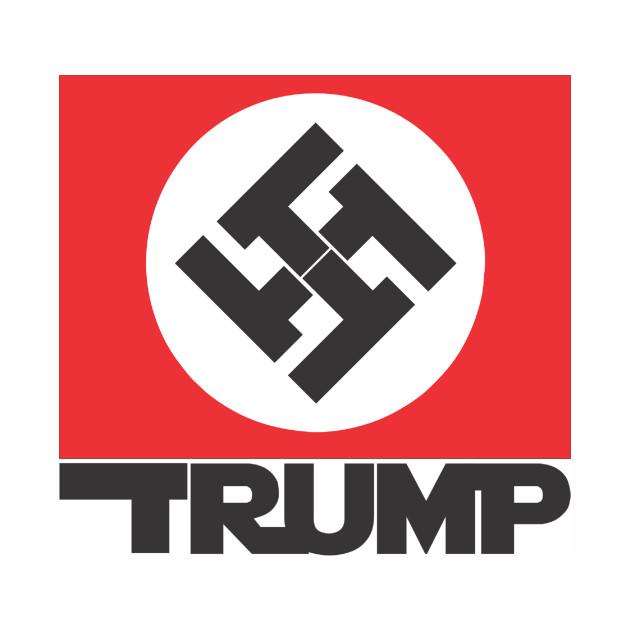 Dump Trump Nazi Tee Shirt