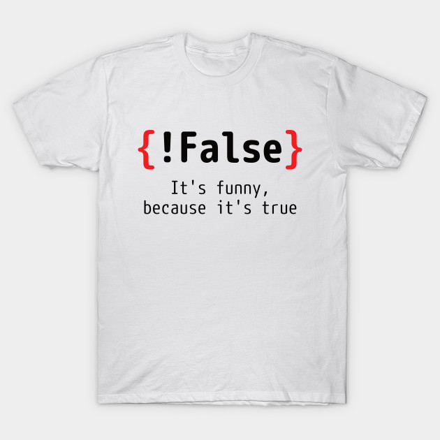 cbd42bfb Programmer T-shirt - Coding Joke - Geek - T-Shirt | TeePublic