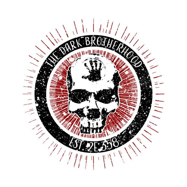 Dark Brotherhood Vintage Art Skyrim Mug Teepublic