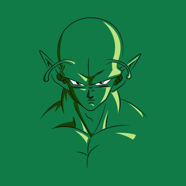 Piccolo Dragon Ball Z Character Face - Dragon Ball - T ...
