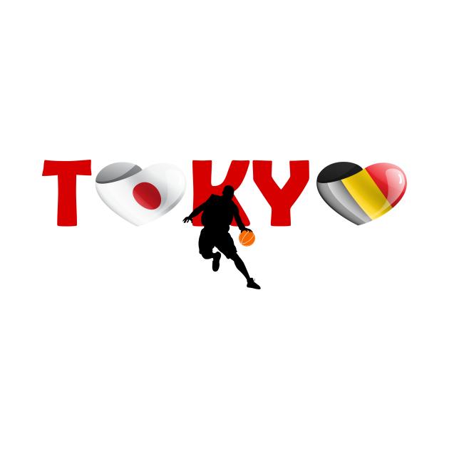 Sports, Basketball, Belgium in Tokyo!