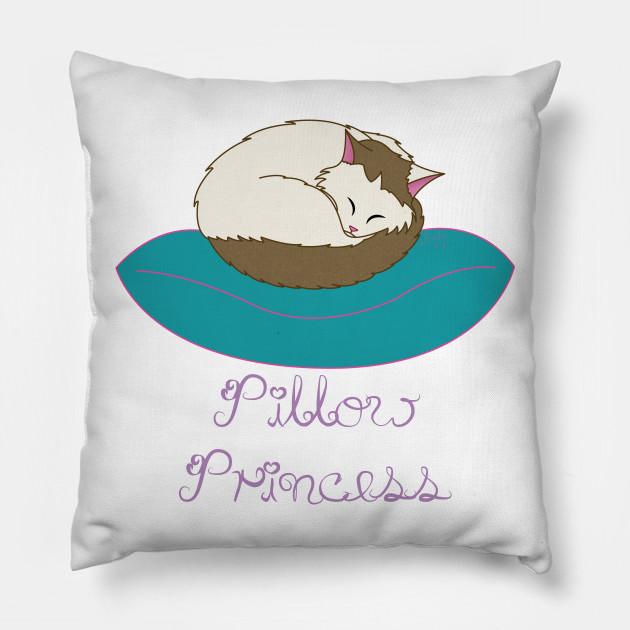 Very Pillow Princess - Pillow Princess - Pillow | TeePublic GA65