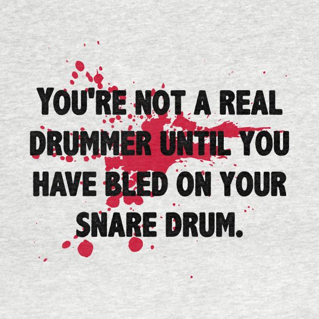 Drumming Is In My Blood