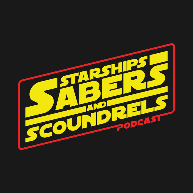 Starships, Sabers, & Scoundrels Main Show Logo