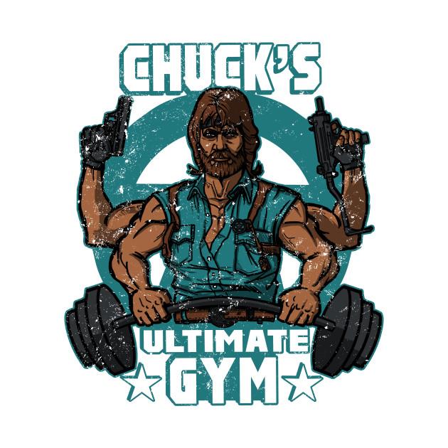 3ed12fee5a49 Chuck s Ultimate Gym - Chuck Norris - Kids T-Shirt