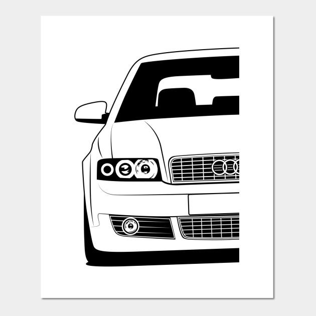 Audi A4 B6 Best Shirt Design