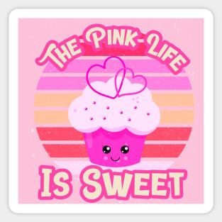 Pink Aesthetic Stickers Teepublic