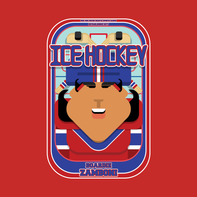 Ice Hockey Red and Blue - Boardie Zamboni - Indie version