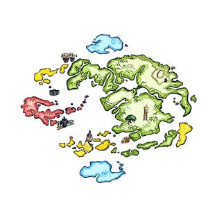 Avatar Map T Shirts Teepublic