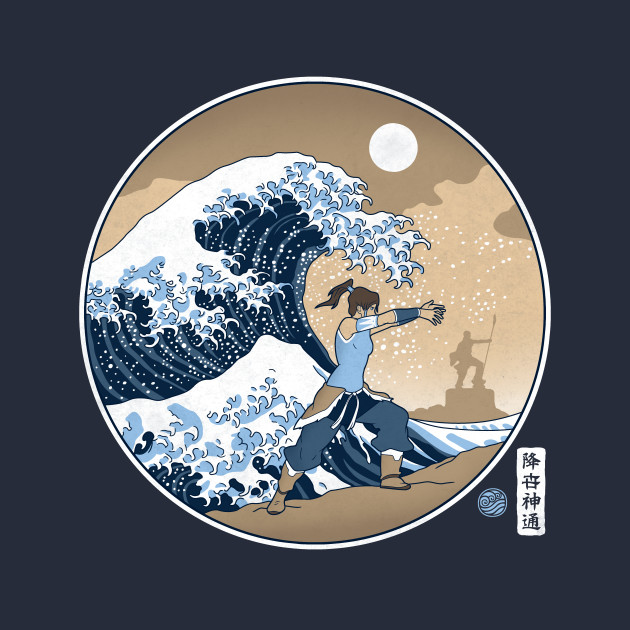 The Great Wave Of Republic City T-Shirt