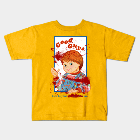 Good Guy Doll Kids TShirts TeePublic - Good guy shirt