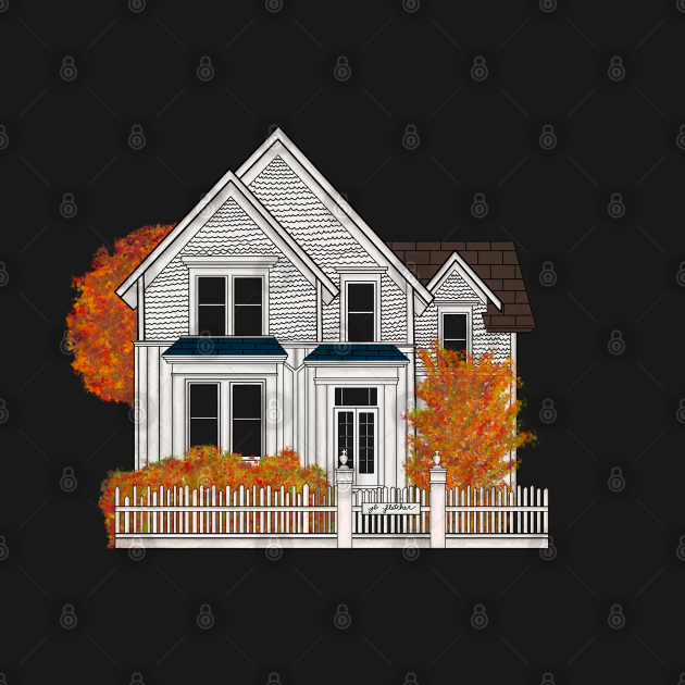 Murder House in Fall