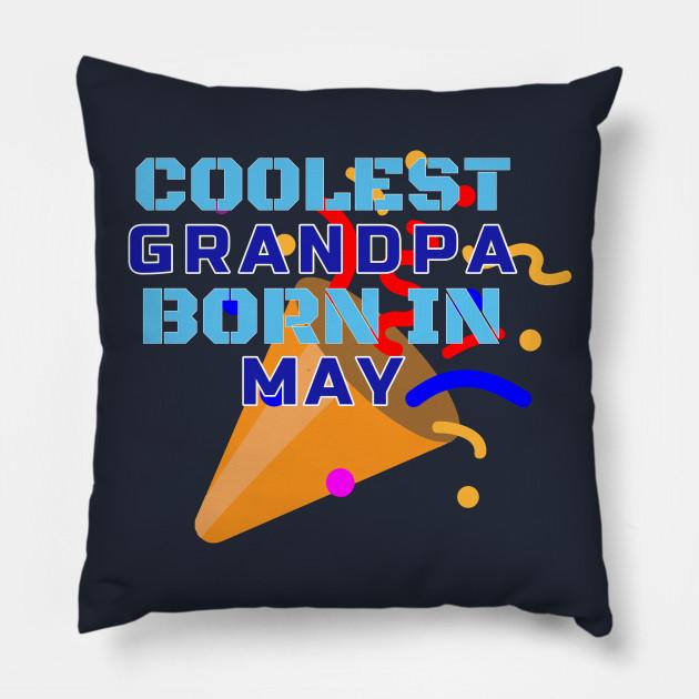 Family Birthday Gift T Shirt For Grandpa Pillow