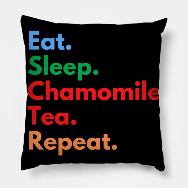 Eat. Sleep. Chamomile Tea. Repeat.