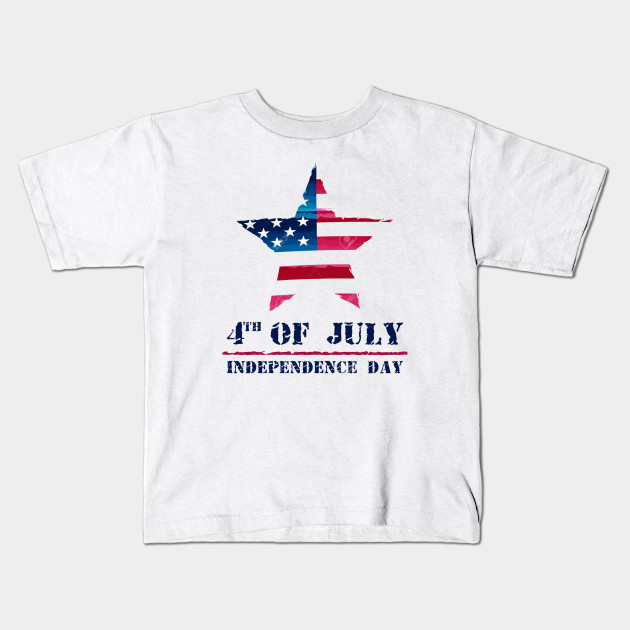 ab69f165ae38 star-in-USA-drawing-flag-and-4th-of-July-Independence-Day-american-holiday-concept-Stock-Photo  Tshirt Kids T-Shirt