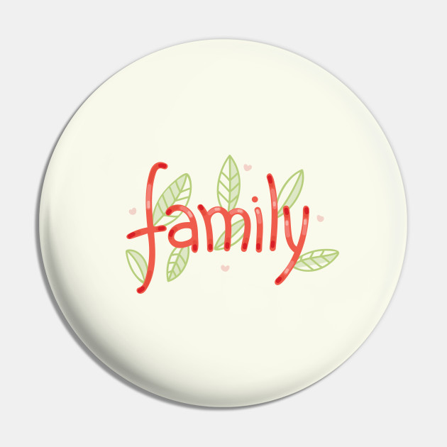 Family - Digitally Handwritten Graphics GC-095
