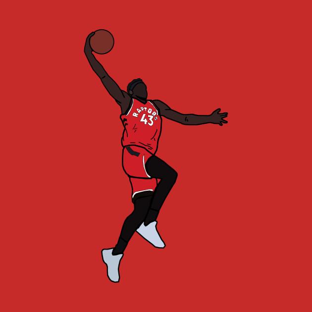 buy online 409a5 dba72 Pascal Siakam Dunk - Toronto Raptors