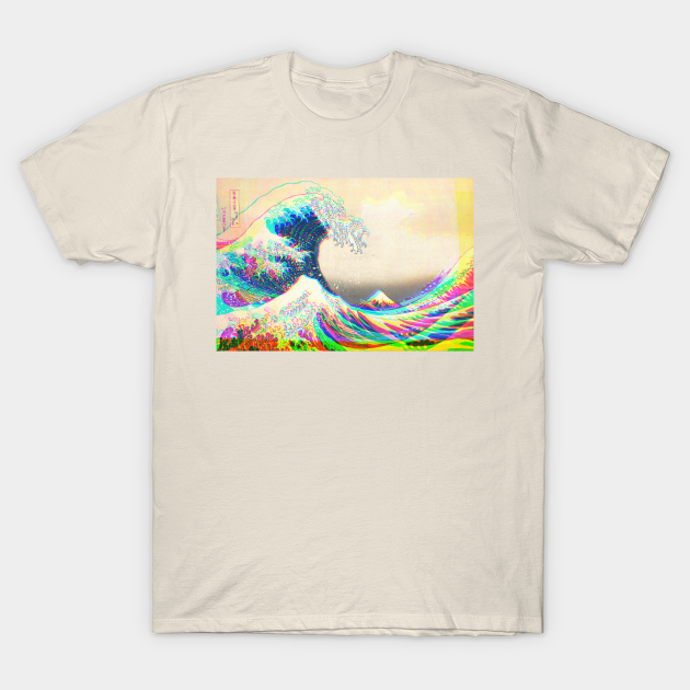 The funky Great Wave off Kanagawa T-Shirt