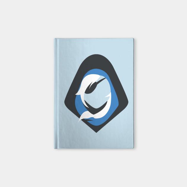 e9cca7dd Overwatch Ana Icon - Top Left Icon - Overwatch - Notebook | TeePublic
