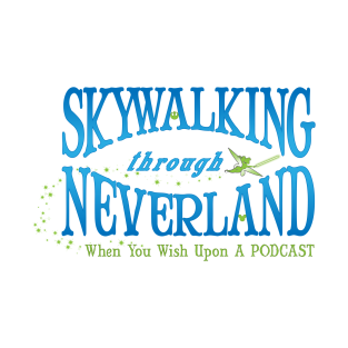 Skywalking Through Neverland Logo Tee - Light Side