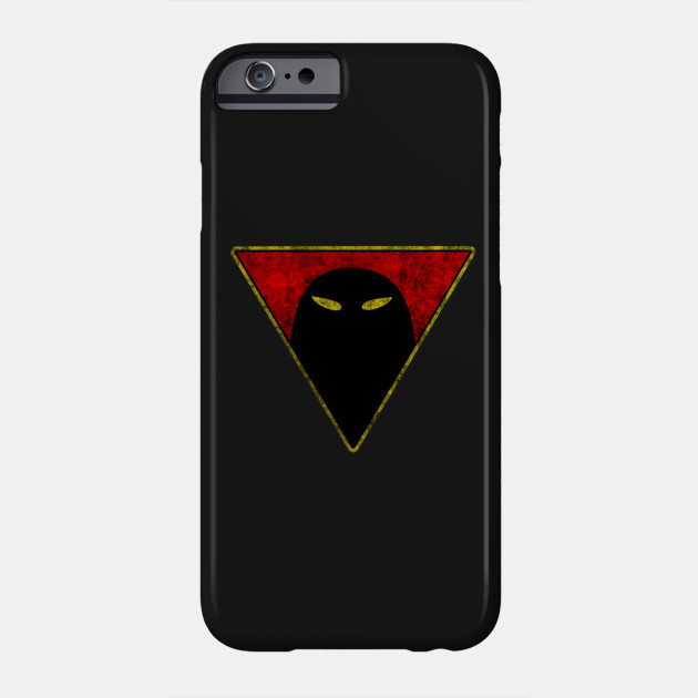 Space Ghost Chest Symbol Black Dirty Space Phone Case