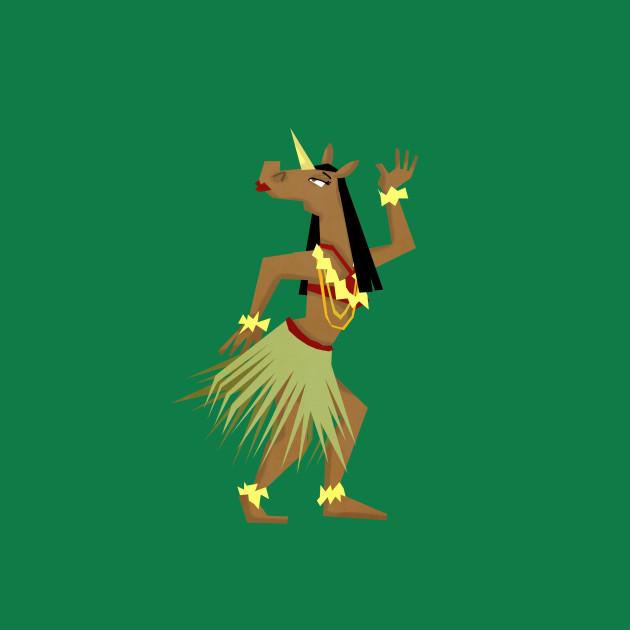Hawaiian Hula Unicorn