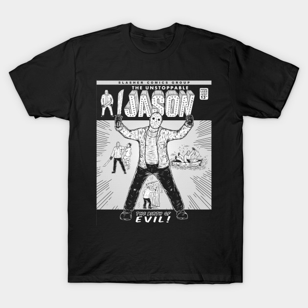 SLASHER 1 INK JASON T-Shirt-TOZ