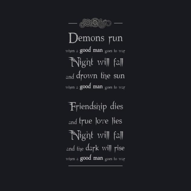 Demons run (grey)