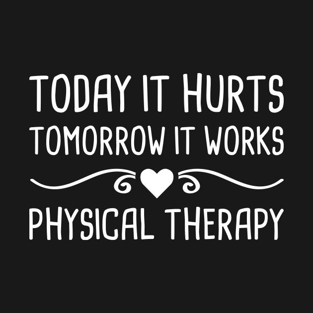 Cute Therapist Physical Therapy Graphic