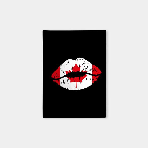 Canada Flag Sexy Lips - Travel Souvenir