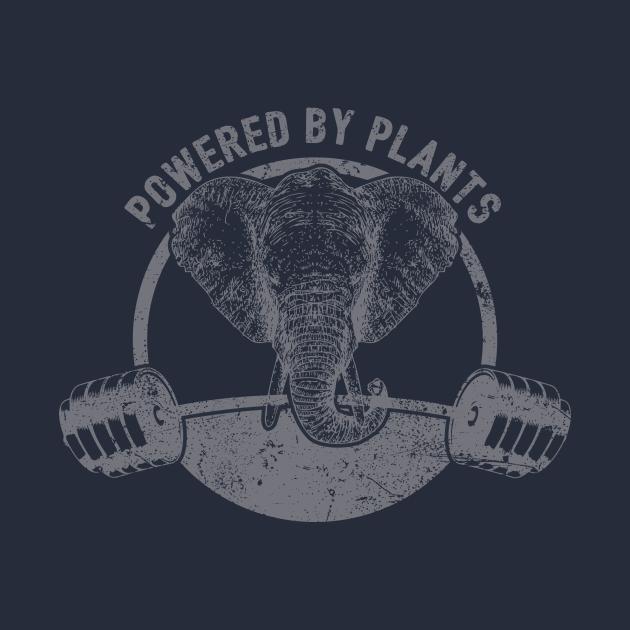 Powered By Plants Vegan Elephant