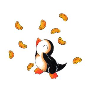 Macaroni Penguin t-shirts