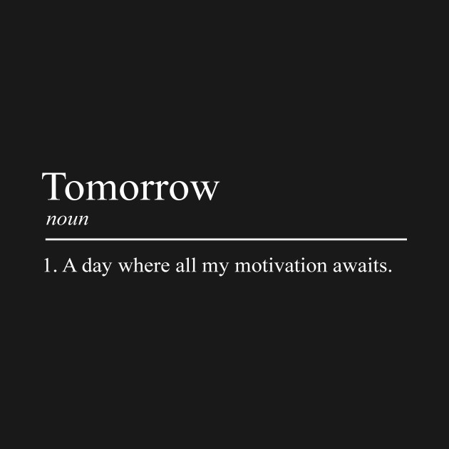 Tomorrow meaning