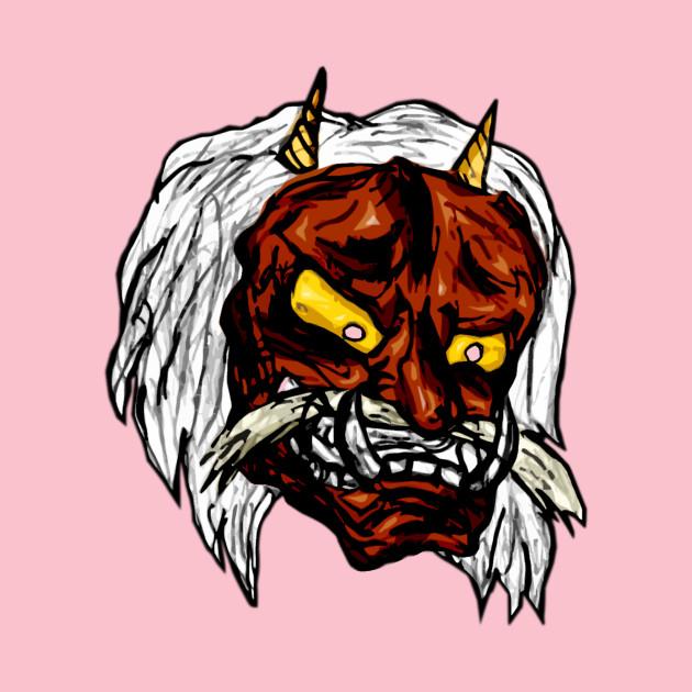 Kabuki Mask brown