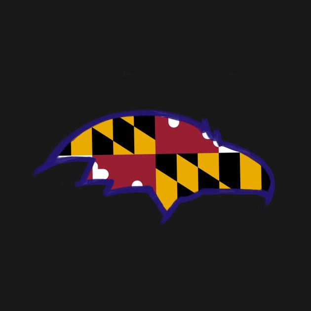 Ravens MD Flag