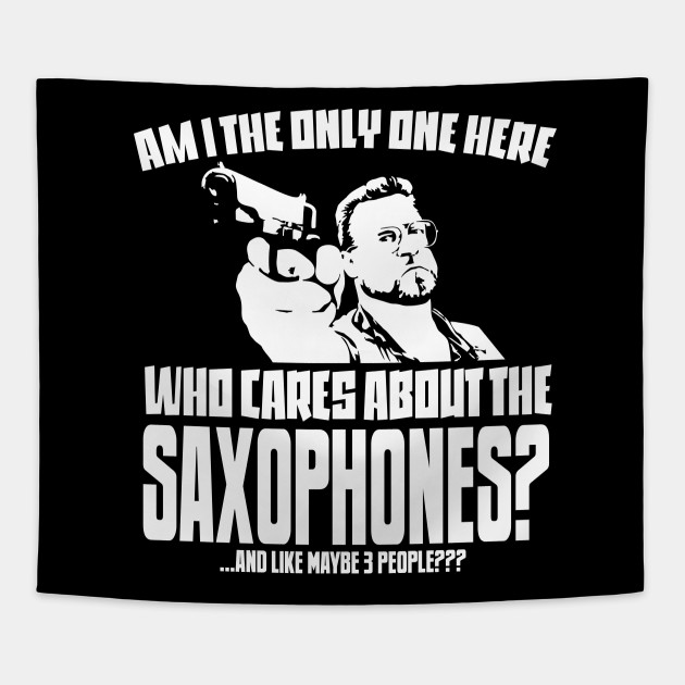 13fdca12 Saxophone Lover T-shirt - Saxophone Musician Gift - Funny Saxophonist Tee  Tapestry