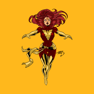 Dark Phoenix Jean Grey X-Men Marvel Shirt Apocalypse