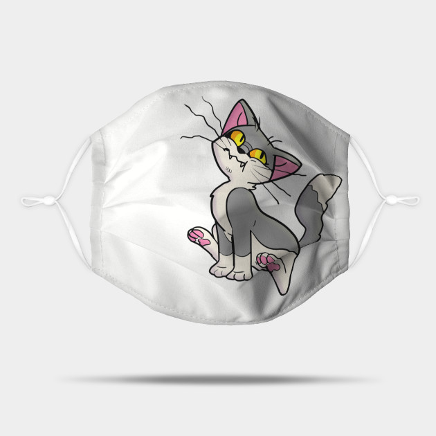 Suspicious Gray Cat