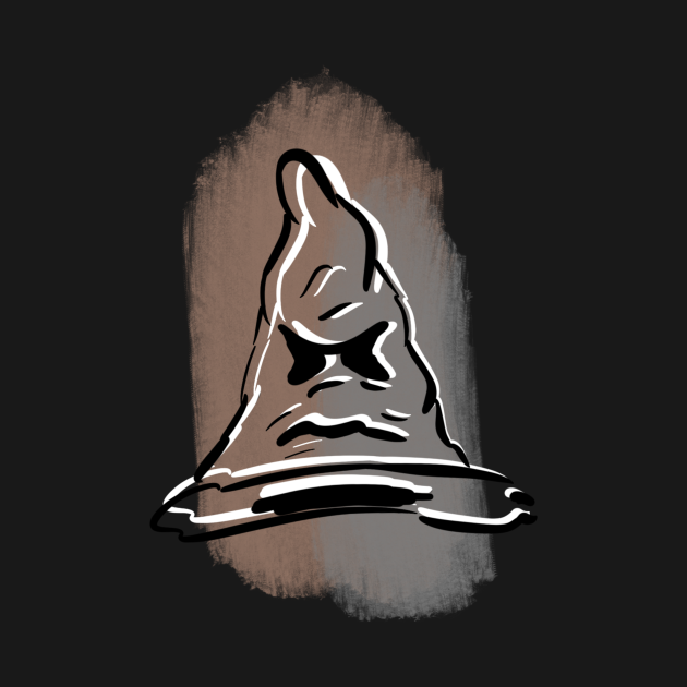 Sorting Hat Paint Stroke