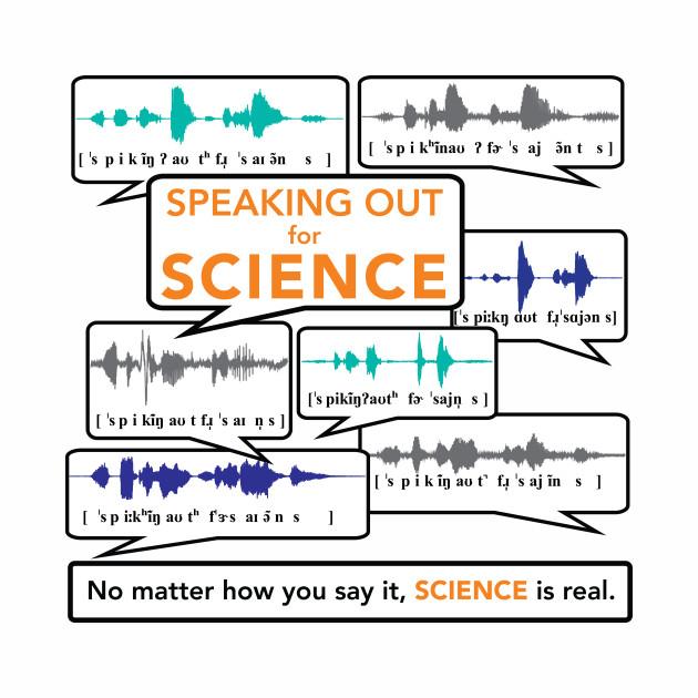 Speaking out for science: multi-speaker version
