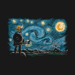 Starry Breath t-shirts