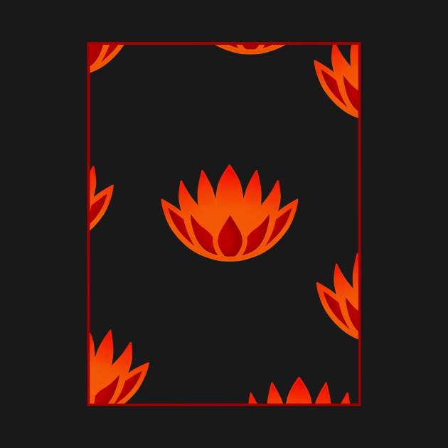Fleur De Feu Fireflower T Shirt Teepublic