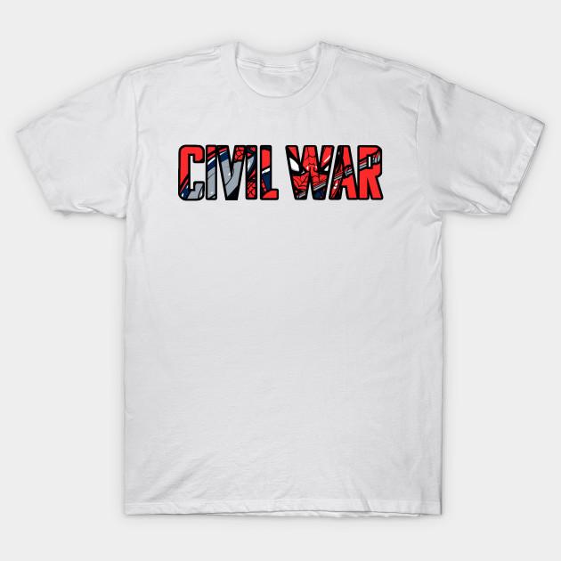3f47fc5c civil war - Movies - T-Shirt | TeePublic