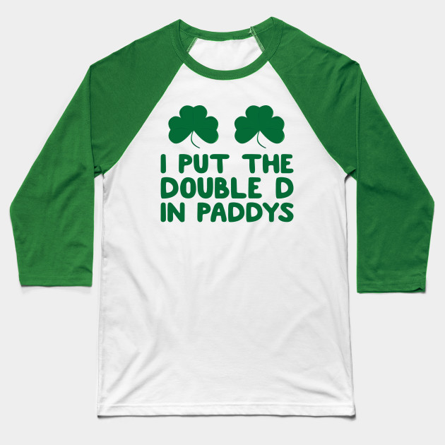 9d58a979 Funny St Patrick's Day Irish Pub Crawl Day Drinking Shirt, The Craic, St  Paddys Day, St Pattys Day Apparel Baseball T-Shirt