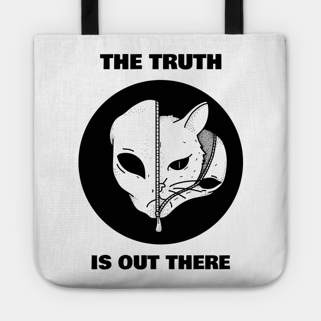 Alien Cat T-shirt The Truth Is Out There