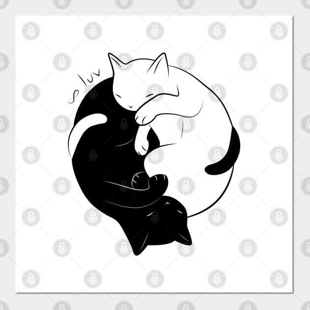Eternal Cat Love Cat Posters And Art Prints Teepublic Au